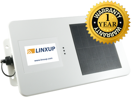 Linxup GPS tracking Solar Tracker