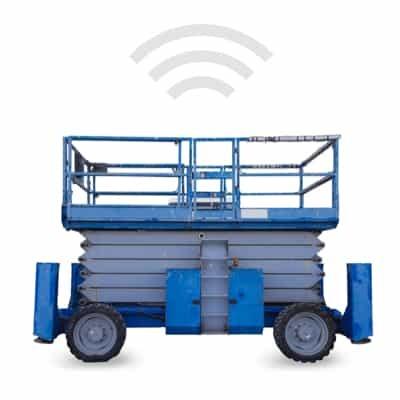 construction lift gps tracking